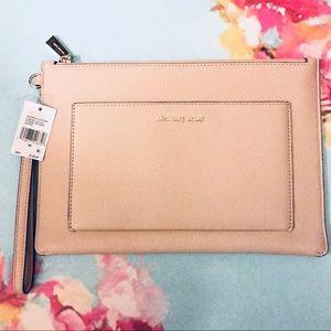 Michael Kors Leather Wristlet/Wallet